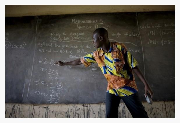Teacher-in-Ghana