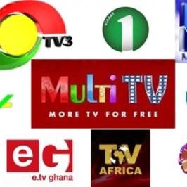 Ghanaian TV stations